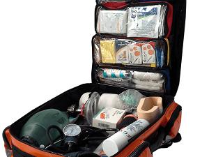 Saco de emergência para ambulância