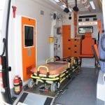 Ambulance Mercedes de Transfert de Patients