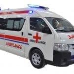 Ambulancia Toyota Hiace