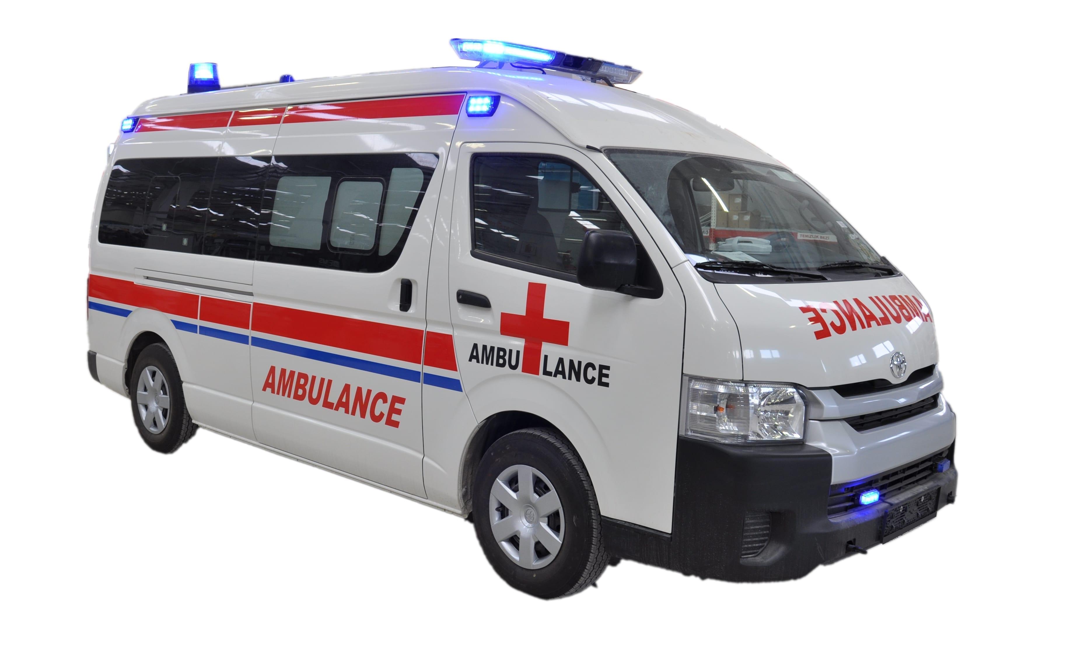 Toyota Hiace Ambulance - Ambulances and Mobile Health Vehicles