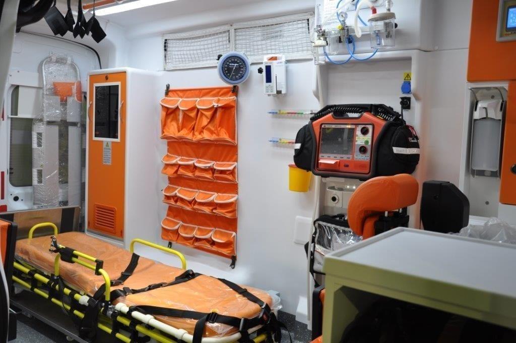 Ambulance de Transport de Patients Ford