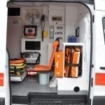 Ambulance de Transport de Patients Ford
