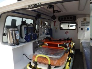 Ambulância 4×4 Land Cruiser