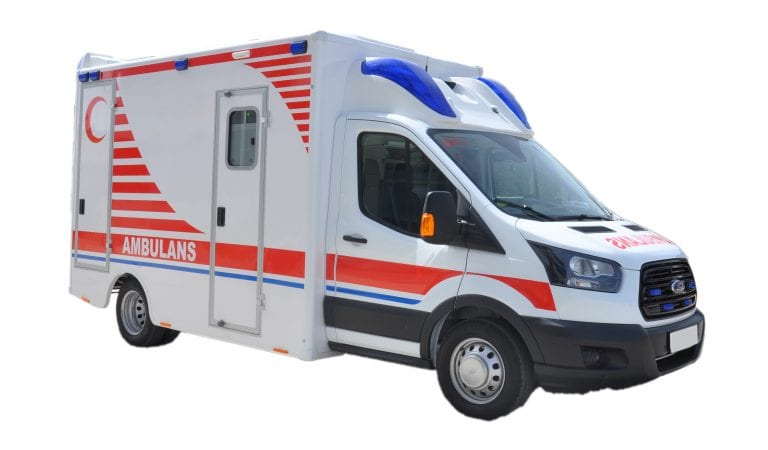 Mercedes Box Type Ambulance