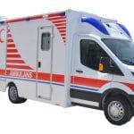 Ambulancia Mercedes Tipo Caja