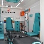 Ambulance de type Mercedes-Box