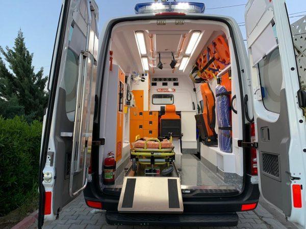 Ambulancia de Emergencia Mercedes