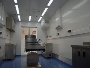 غرفة العمليات المتنقلة