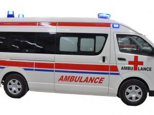 Ambulance Toyota Hiace