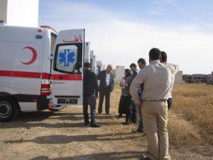سيارة إسعاف مرسيدس