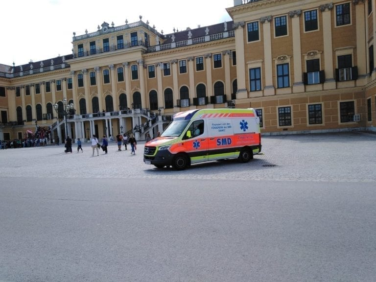 Mercedes ambulance