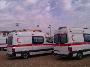 سيارة إسعاف الشرق الأوسط