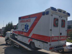 عيادة صحية متنقلة ambulancemed