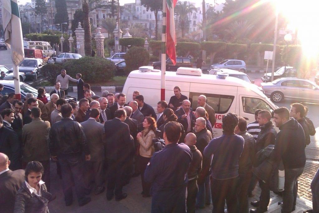 Lebanon Ambulance Humanitarian Aid