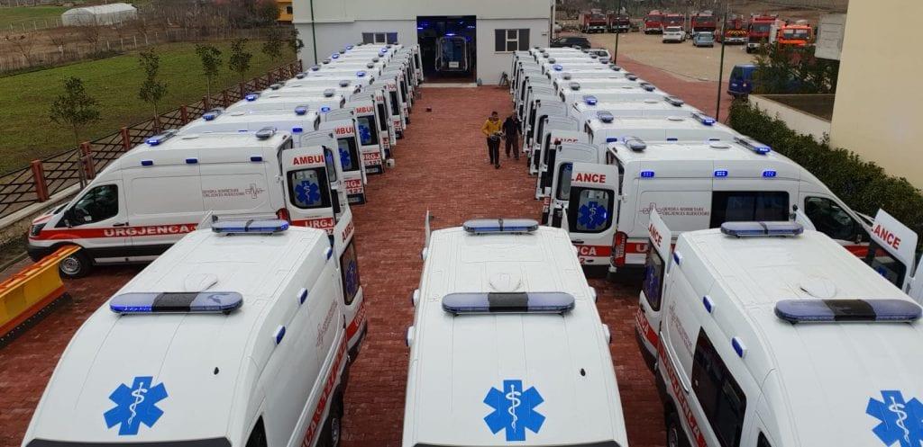 emergency ambulance Ambulances d'Urgence