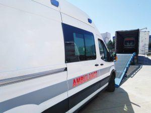 Ambulance dUrgence Mercedes