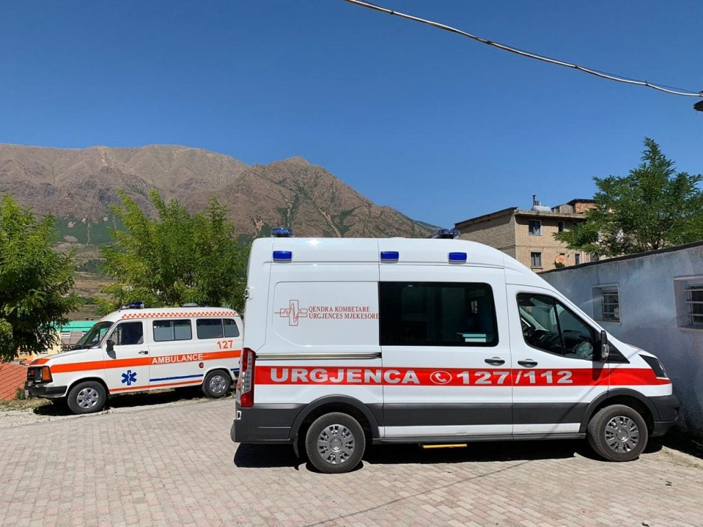 Ambulância Mercedes Sprinter