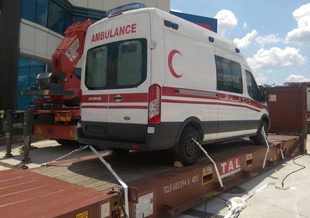 ambulâncias de emergência da Ford