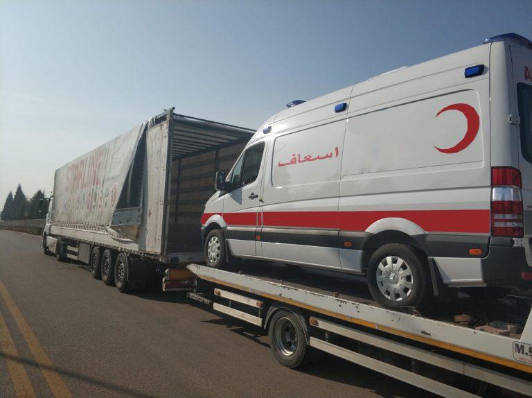 Mercedes Ambulance Somalia
