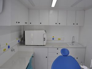 Mobile Dental Clinic Box Type
