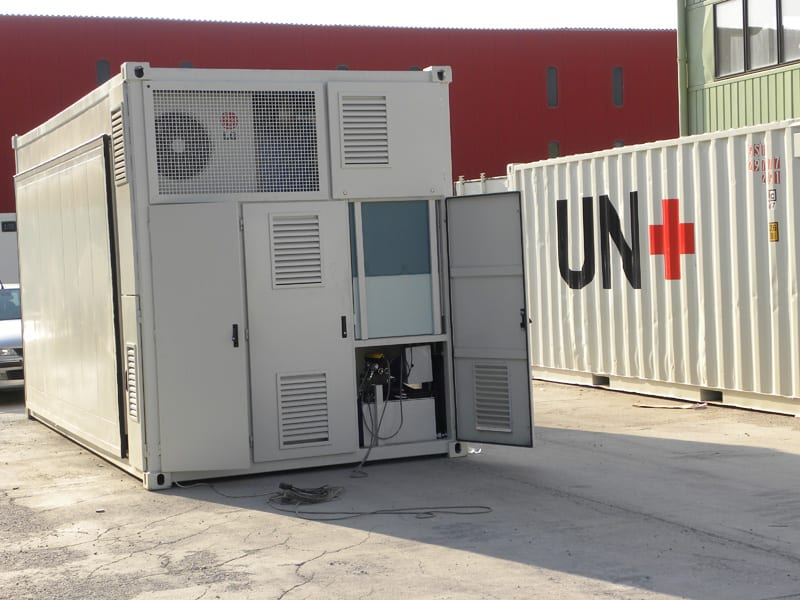 Mobile Field Hospital Container