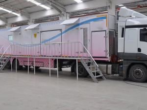 Mobile Mammography Cancer Scanning Vehicle