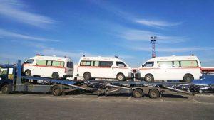 d'Ambulance Toyota Hiace Tunisie
