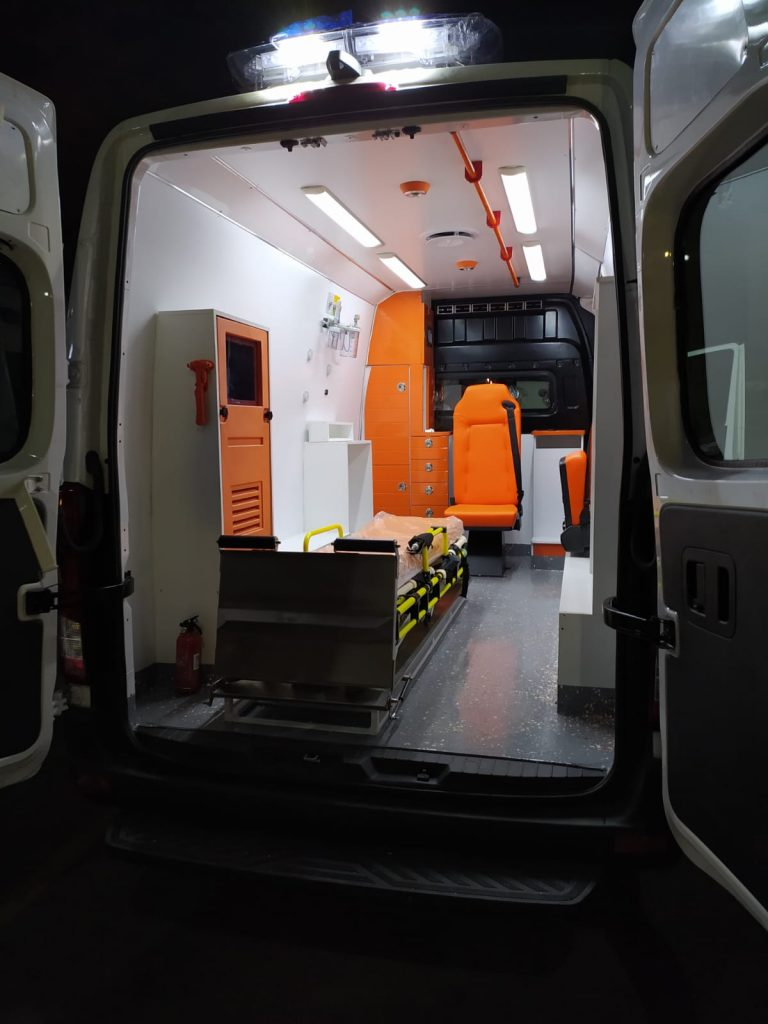 Ambulancemed Mobile clinic ambulance manufacturer second-hand ambulance producer 4