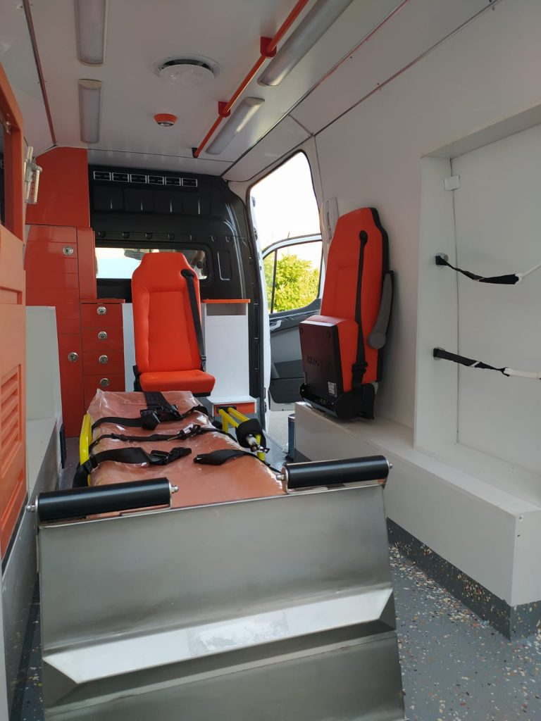 Ambulancemed Mobile clinic ambulance manufacturer second-hand ambulance producer