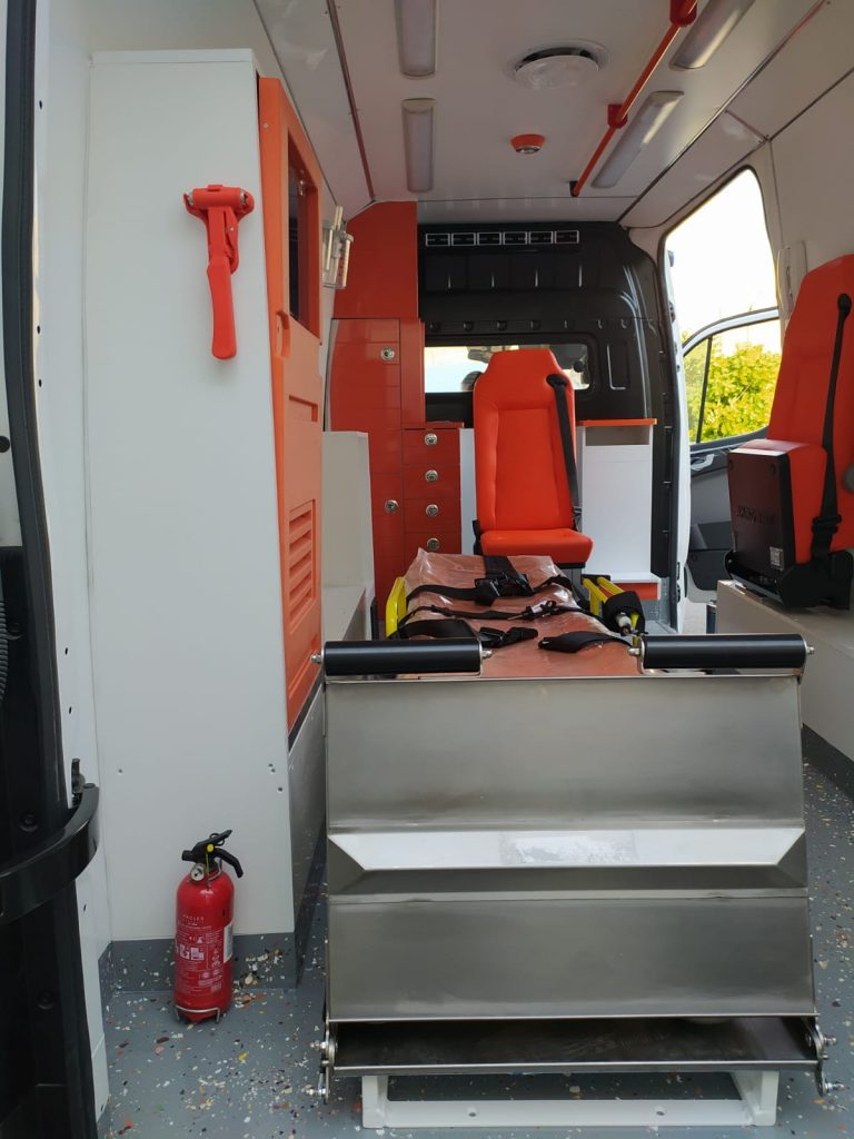 Ambulancemed Mobile clinic ambulance manufacturer second-hand ambulance producer1