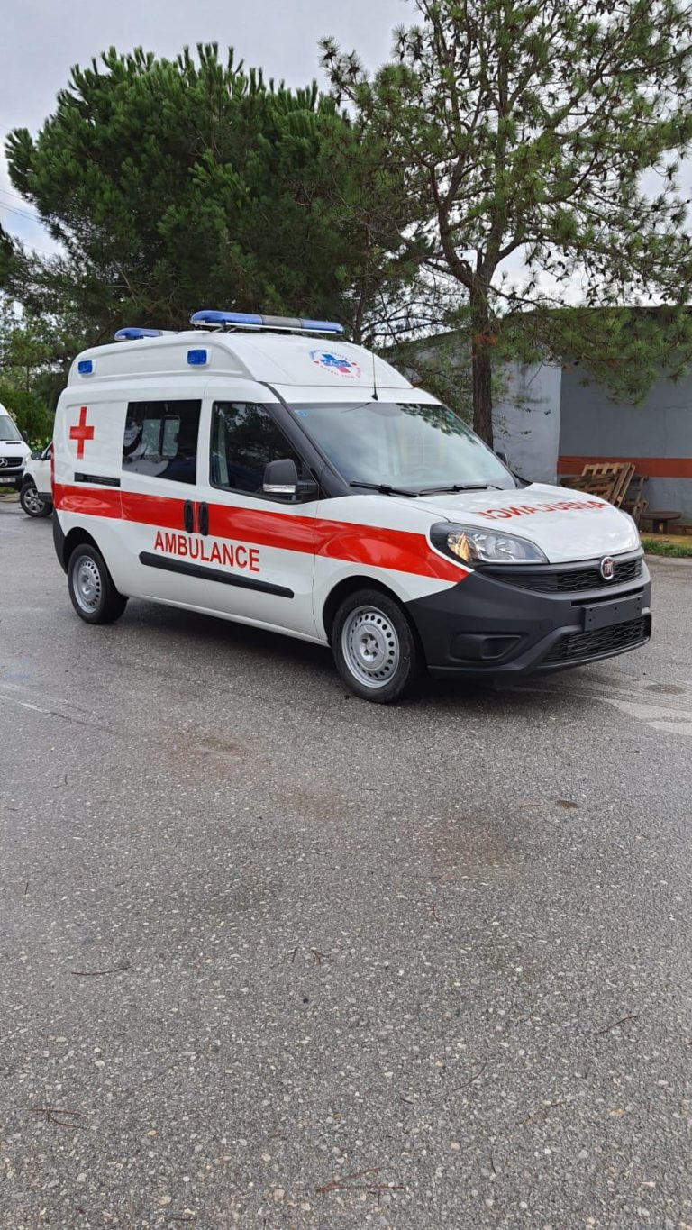 Fiat Doblo Emergency ambulance