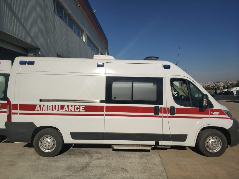 Fiat Ducato 2021 Model Emergency Ambulance EN1789