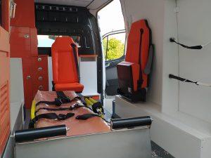 سيارة الإسعاف هيونداي للطوارئ
