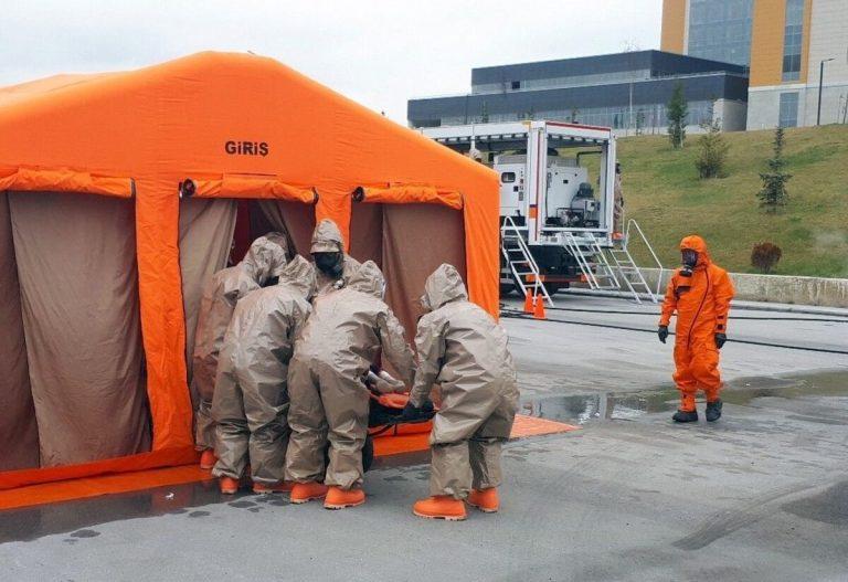 Medical CBRN Tent