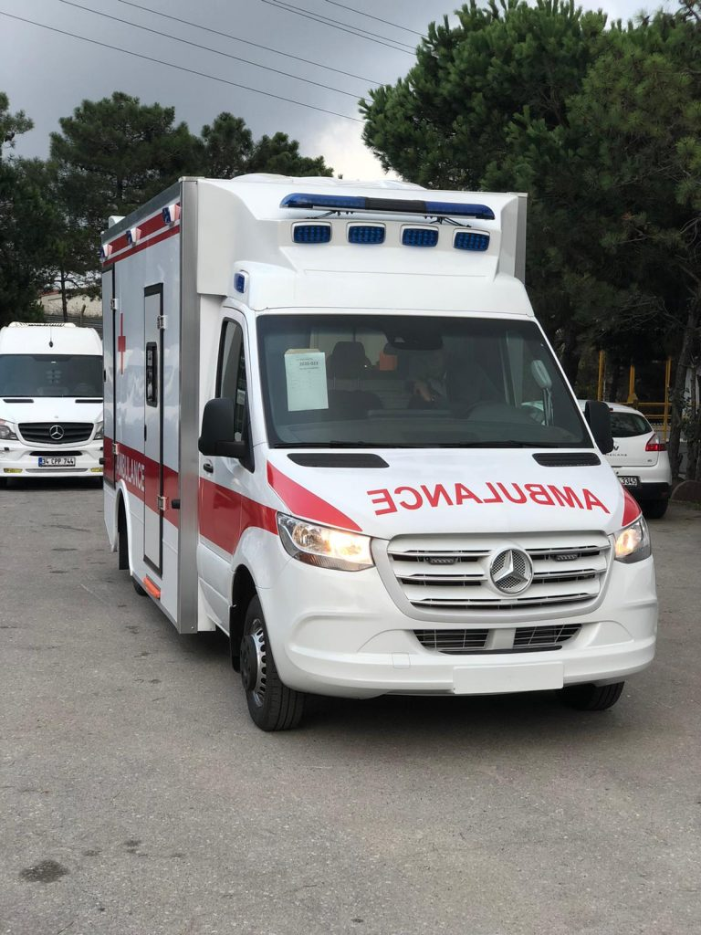 Mercedes Sprinter 2021 Emergency Ambulance