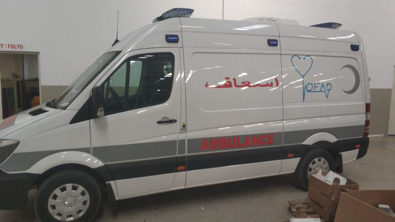 Mercedes Sprinter Ambulance 22
