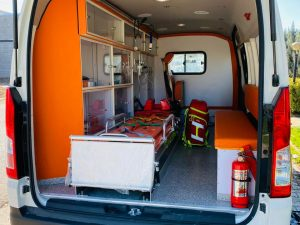 سيارة الإسعاف تويوتا هايس  ICU