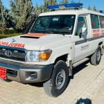 TOYOTA LAND CRUISER 4X4 EMERGENCY AID AMBULANCE 9