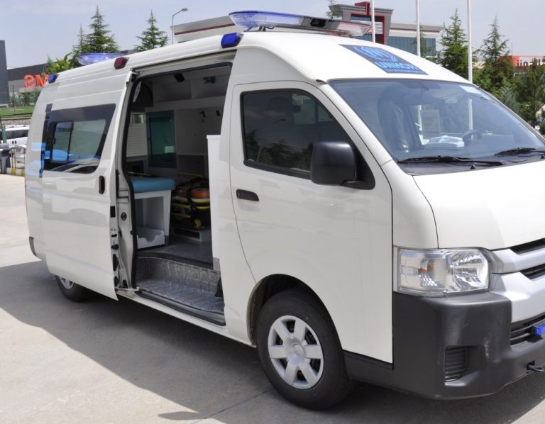 Toyota Hiace Ambulance AmbulanceMed 2021 Model Gasoline Engine2