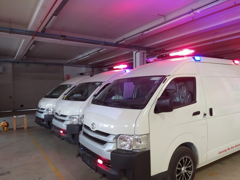Toyota Hiace Ambulance UNCHR 2021 Model. 1