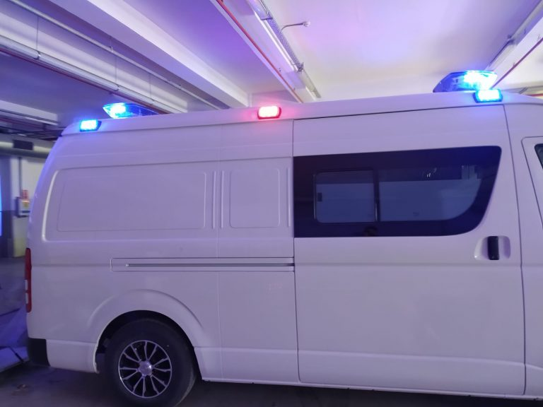 Toyota Hiace Ambulance UNCHR 2021 Model.33