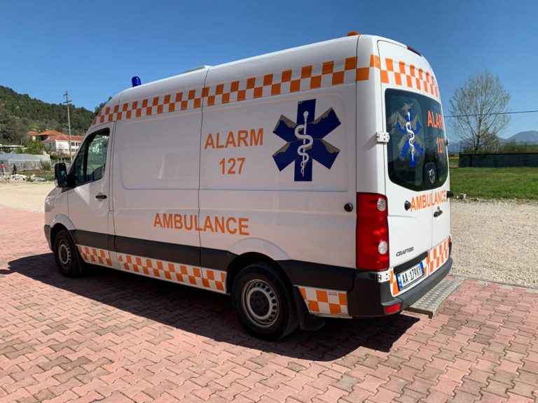 VW Crafter emergency type ambulance 2021 Model Diesel Engine2